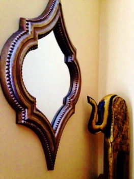 mirror and elephant
