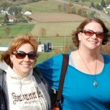 Together on a windy, gorgeous day in Amish country.